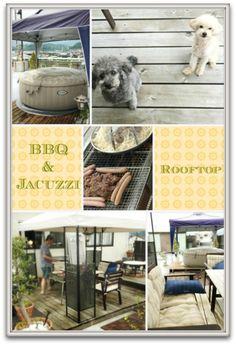 屋上BBQ&コストコジャグジー | Happy go Camping