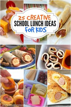 Find creative school lunch ideas for kids here. No more boring lunches with these ideas. Get 25 creative school lunch ideas for kids that they will love. Make any of these amazing school lunches and your kids will love them! Cheap School Lunches, Creative School Lunches, Kids Lunch For School, Healthy School Lunches, Toddler Lunches, Packed Lunch Ideas For Kids, Easy Kids Lunches, Cheap Lunch Ideas, Toddler Dinners