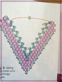 Finally found it Jane Lock Paisley drop pattern :) Amybeads: TGIF! Beading Babes Sneak Peek and a Free Pattern