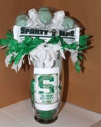 Spartans Candy Vase