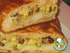 Пирог картофельно-грибной с сыром - кулинарный рецепт