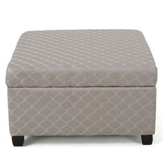 Shop for Christopher Knight Home Matteo Square Patterned Fabric Storage Ottoman. Get free shipping at Overstock.com - Your Online Furniture Outlet Store! Get 5% in rewards with Club O!