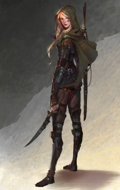 A place to share and appreciate fantasy and sci-fi art featuring reasonably portrayed women. Fantasy Warrior, Fantasy Rpg, Fantasy Girl, Fantasy Artwork, Elf Warrior, Fantasy Fiction, Dungeons And Dragons Characters, Dnd Characters, Fantasy Characters