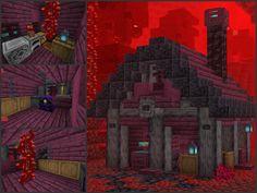 Minecraft Cottage, Cute Minecraft Houses, Minecraft Plans, Minecraft House Designs, Minecraft Survival, Amazing Minecraft, Minecraft Games, Minecraft Tutorial, Minecraft Blueprints
