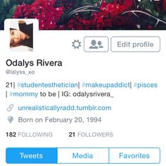 Follow me on #Twitter! I always make one and get over it but maybe this time I won't lol follow follow follow !