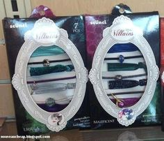 Spotted: Scunci Disney Villains Ponytailers Collection