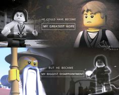 """•  #NINJAGO  • Sensei Wu & #Morro ( Season 5 - #Possession ) """"He could have become my greatest hope but he became my biggest disappointment"""" My Edit :)"""