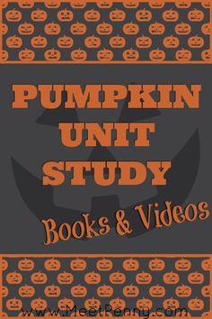 Books & Videos for a Pumpkin Unit Study