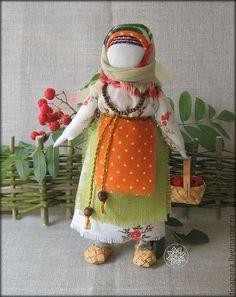 """""""Рябинка"""" - кукла-оберег,береста,Рябинка,ручная работа,традиционная кукла"""