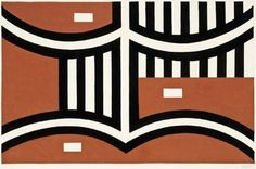 Gordon Walters Untitled 1956 Collection of Christchurch Art Gallery Te Puna o Waiwhetū; purchased with the assistance of the W. Michael Dell, Maori Symbols, Maori Designs, Maori Art, Kiwiana, Commercial Design, Painting Patterns, Geometric Art, Cool Baby Stuff