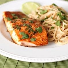 My new favorite way to prepare salmon- trust me, this is totally amazing!