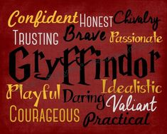 Image result for harry potter house characteristics