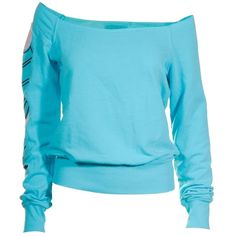 SWEATERS - 291 FROM VENICE - 291 FROM VENICE SWEATSHIRT SKY bei... ($235) ❤ liked on Polyvore
