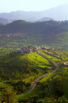 Ibb (Yemen)  by Waleed  Nasser, via 500px [It's hard to believe that I can trace my genes to this place - wow!!]
