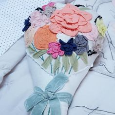 Bouquet Throw Pillow    The Land of Nod