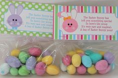 Easter Party Favor Bunny Poop Basket Filler by partypapercreations, $2.95
