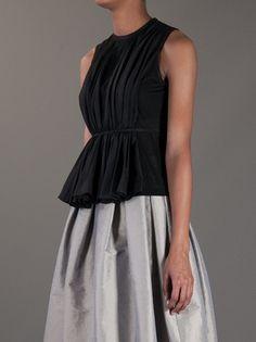 HEXA BY KUHO - pleated sleeveless top 8