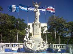 Monumento  a Ruben Dario, Managua, Nicaragua.