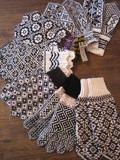Black and white mitten madness - 2