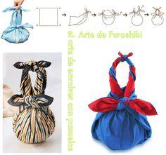 TUTO et vidéo : des trucs pour faire d'un foulard un sac!!! ( sans couture, juste des noeuds) - Crochet/FleurBelge http://fleurbelge.canalblog.com/archives/2013/06/04/27333624.html