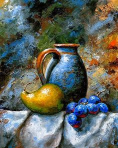 Still Life 24 Art Print by Emerico Imre Toth - - Still Life 24 Art Print by Emerico Imre Toth ΝΕΚΡΗ ΦΥΣΗ Fruit Painting Print featuring the painting Still Life 24 by Emerico Imre Toth Still Life Oil Painting, Woman Painting, Still Life Fruit, Fruit Painting, Abstract Painters, Caravaggio, Art Abstrait, Pastel Art, Art Oil