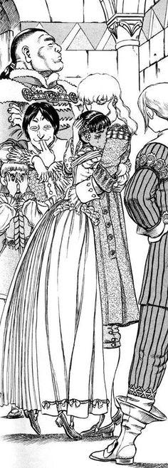 Casca and Griffith #Berserk manga
