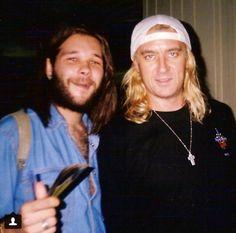 Joe with fan 1997