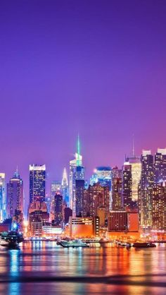 New York Skyline at Night | 20% Off Hotels Deals