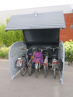 fietsenstalling voor voortuin