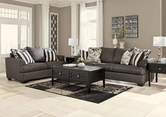 Charcoal Sofa Flannels And Charcoal On Pinterest