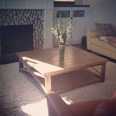 square x coffee table | Do It Yourself Home Projects from Ana White