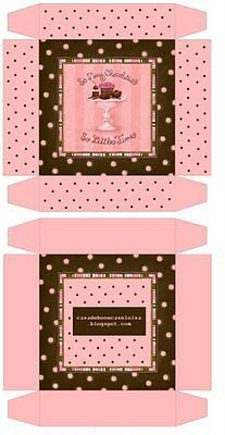 bakery box miniature printable