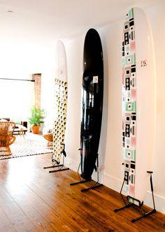 #DVFlovesROXY custom surfboards