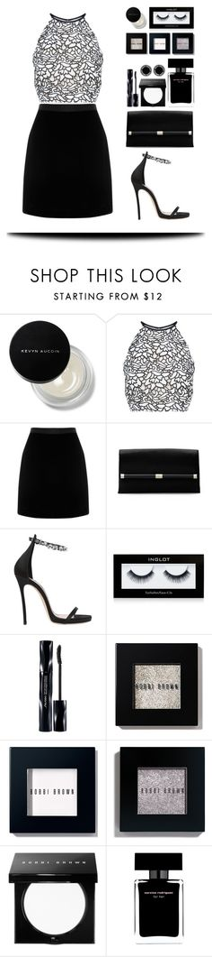 """""""Grayscale: EMBROIDERY"""" by silverheartwood ❤ liked on Polyvore featuring Kevyn Aucoin, Keepsake the Label, Diane Von Furstenberg, Dsquared2, Inglot, Shiseido, Bobbi Brown Cosmetics, Narciso Rodriguez and Marc Jacobs"""