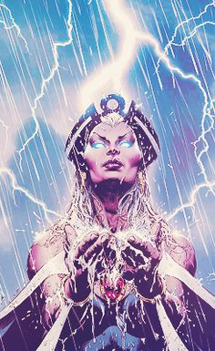 """I am a woman, a mutant, a thief, an X-Men, a lover, a wife, a queen. I am all these things. I am Storm, and for me, there are no such things as limits."""