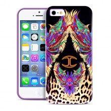Forro iPhone 5 5S Just Cavalli - Wings Violeta  Bs.F. 210,17