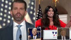 Inside Xhibitionist megayacht that looks like the Batmobile | Daily Mail Online Kimberly Guilfoyle, Cute Nicknames, Creepy Kids, Donald Trump Jr, Pet News, First Lady Melania, National Convention, Party Venues, Republican Party
