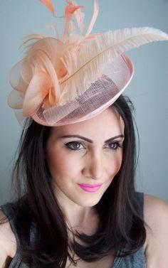 from Elegance Maylife Francine Diamante Sinamay /& Feather Headband Fascinator