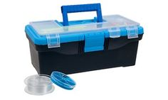 52-Piece Tackle Box and Accessories Set
