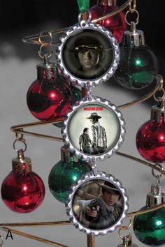 Monster and zombie Christmas Ornaments by asconch.deviantart.com ...