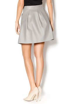 Grey Poppy Skirt