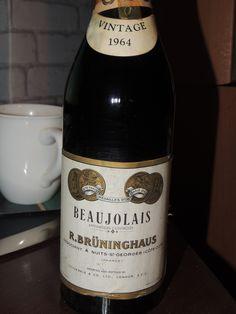 Beaujolais vintage 1964