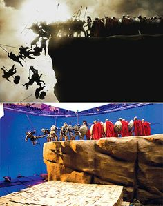 New Pix (BTS - behind the scenes of 300) has been published on Tremendous Pix