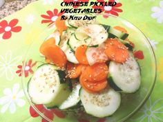 CHINESE PICKLED VEGETABLES