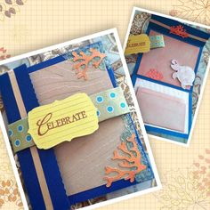 'Under the Sea'theme gift card holder