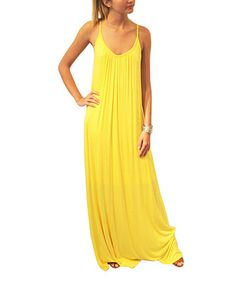 67010425bbc S.H.E. – Soul Harmony Energy Yellow Maxi Dress