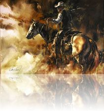 cowboy art by Chris Owen