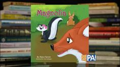It's a children's book with the spotlight on a Southern Belle Skunk named Magnolia!