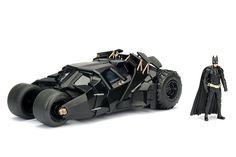 The Dark Knight Batmobile & Batman 1:24 Scale