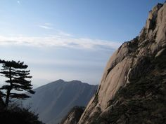 Huangshan The Yellow Mountain in China